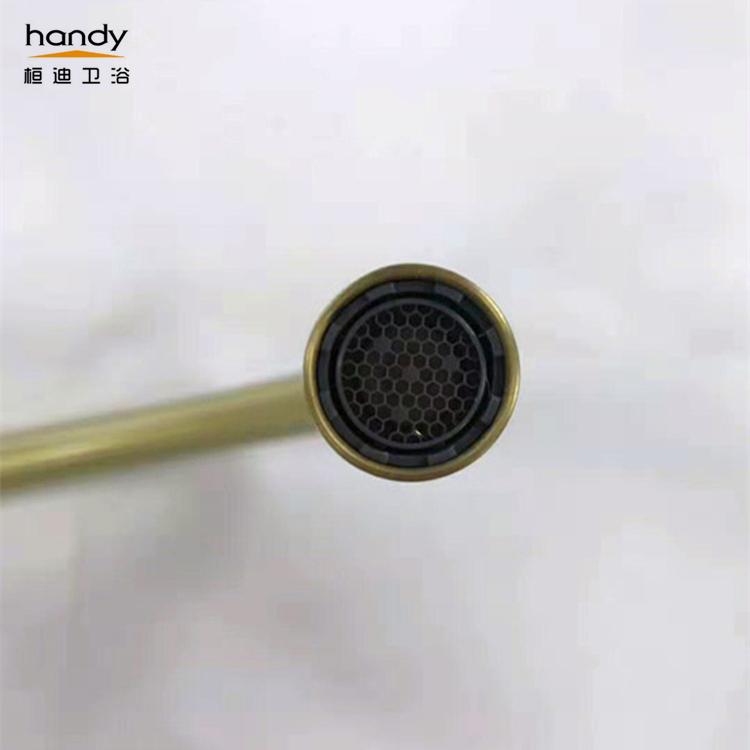 Gold Brass Kitchen Faucet