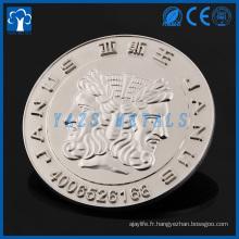 Emblème personnalisé en métal rond