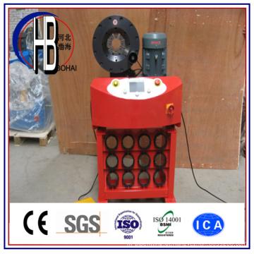 Tipo novo do Ce Máquina de friso da mangueira do controle de Digitas do PLC