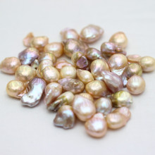 Multi-Color Baroque Nucleated Freshwater Pearl Beads