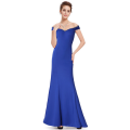 A long wedding gown