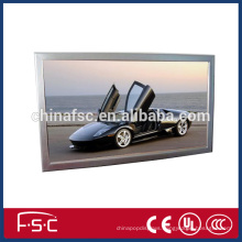 Quality led snap frame light box with aluminum profile