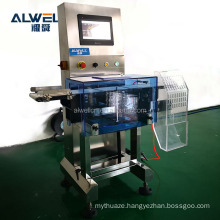 High speed automatic weight checker check weighing machine