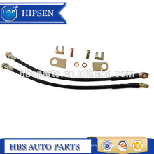 """11 """"mangueira de freio de borracha de comprimento / linhas de freio 10 MM M10X1.5 BANJO BOLT para GM Caliper traseiro Universal"""