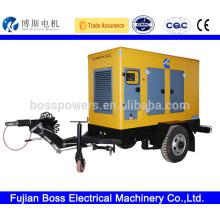 All engine brand deisel generator 2 wheel trailer
