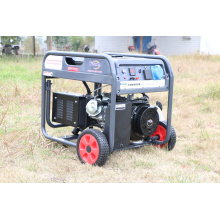 Générateur d'essence 5kVA, générateur portatif, générateur d'énergie, générateur d'essence
