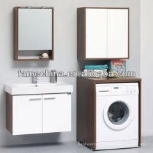 Hot Sale Bathroom espelho de casa de madeira branca