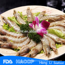 Headon frozen vannamei shrimp products