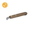Высокое качество, легкое использование ножа каштана с клепаной ручкой грецкого ореха
