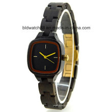 2017 Girls New Fashion Small Wrist Wooden Watch All Wood Watch