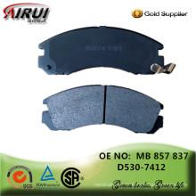 Nicht-Asbest, Scheibenbremsbeläge, OE-Qualität, Hersteller heiße Verkäufe Autoteile (OE: MB 857 837 / D530)