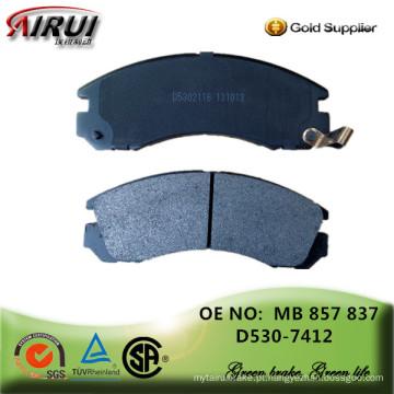 Não amianto, almofadas de freio a disco, qualidade OE, fabricante auto peças de vendas (OE: MB 857 837 / D530)