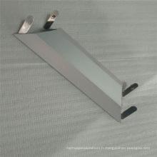 6063 Section en aluminium extrudé pour le cadre