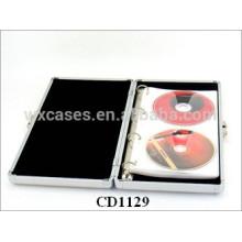 vend en gros des cas DVD de haute qualité CD 40 disques en aluminium