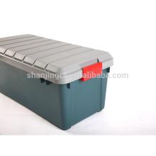 Caja de almacenamiento resistente de la venta entera 60L con el cierre para los coches