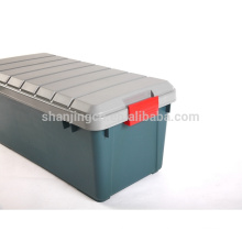 60L whole sale Heavy duty storage box with latch For Cars