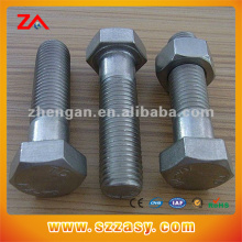 Tornillo hexagonal de acero inoxidable