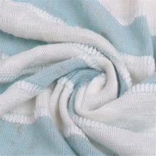 Разноцветная грубая трикотажная ткань из льняной ткани с иглами