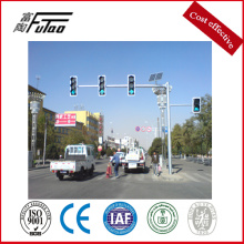 8m Height 17m Length Galvanized Traffic Signal Post