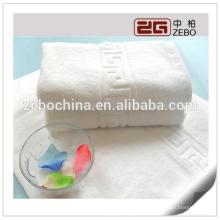 35 * 75cm 150g Toalla de cara del telar jacquar de la alta calidad para la fuente de la fábrica
