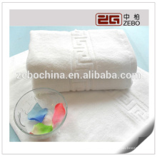 High Quality Customized Color Hotel Cotton Towel Jacquard Bath Towel