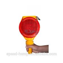 Luz roja o amarilla de la barricada de la advertencia del tráfico del copolímero LED en venta