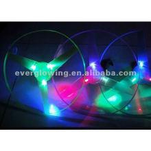 flechas de luz disco voador