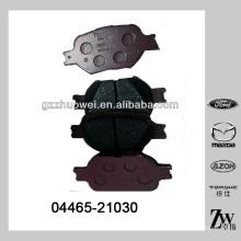 China Alta calidad de piezas de repuesto de pastillas de freno para TOYOTA 04465-21030