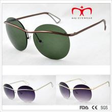 2015 últimas gafas de sol redondas del marco del estilo de la manera (MI215)