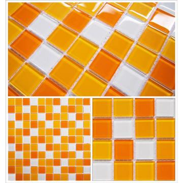 Mosaico de cristal simple