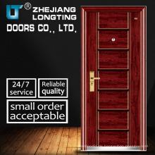 Einflügelige Tür kaltgewalzte Stahl Sicherheitstür