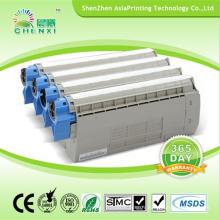 Cartouche de toner couleur pour fournisseur chinois pour Oki C710n C710dn C710dtn C711
