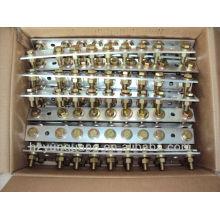 pièces de dispositif électrique extérieur de cuivre distribution de puissance transformation cuivre accessoires connecteur électrique