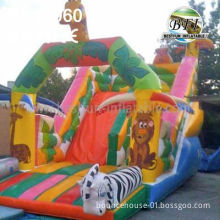 Safari Inflatable Jumper For Birthday Party