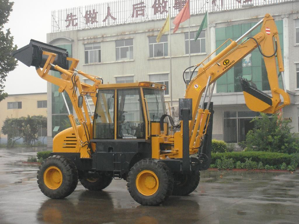 Backhoe Loader Assembly