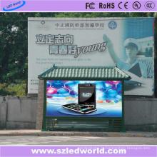 Cor P8 exterior do painel de exposição do diodo emissor de luz multi para a propaganda de Squre