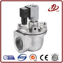 Válvula solenoide de alta velocidad de aleación de aluminio de ángulo recto
