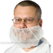 Einmaliges, nicht gewebtes, atmungsaktives Bartnetz