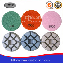 Almofada de polimento de diamante de 75mm para betão