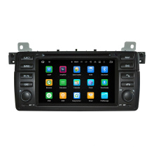 Tela de toque Hla 8788, Android 5.1.1 OS, 4-Core 1.6GHz, DVD Player de carro para BMW 3 Serises / E46 / M3