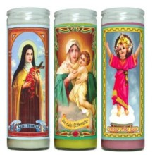 Sanctuary Candles Saint Candle