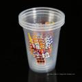 Copos descartáveis plásticos redondos do iogurte do polipropileno 14oz descartáveis