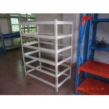 esd angled metal shelf cargo shelves
