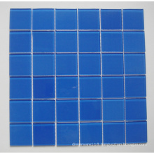 Blue Mosaic Glass-Swimming Pool Tile (TM8023)