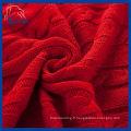Couverture en coton 100% coton rouge (QHD887609)