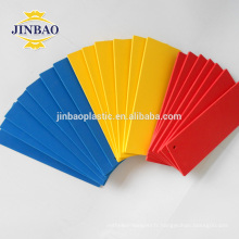 JINBAO bleu feuilles de plastique mince pvc mousse forex conseil pour les meubles
