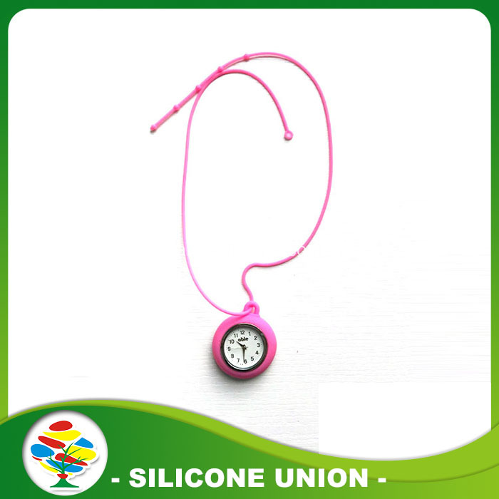 Unisex Promotional New Hanging Silicone Pocket Watch