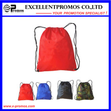 Colorful Printed Polyester Drawstring Backpack (EP-B6192)
