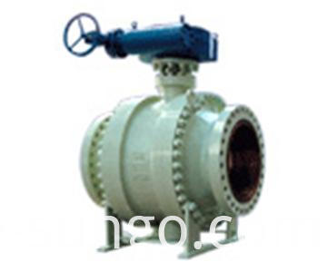 ASME B16.34 Trunnion Ball Valve