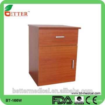 Больничный деревянный прикроватный шкафчик